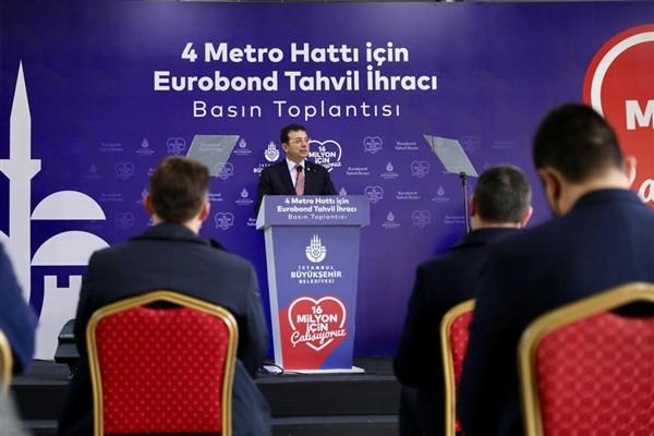 İBB'den 33 yıl sonra bir ilk: 580 milyon dolarlık Eurobond tahvil ihracı