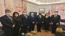 Vatan Partisi'nden Suriye Arap Cumhuriyeti Başkonsolosluğuna başsağlığı ziyareti