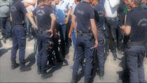 Ankara'ya yürümek isteyen işçilere polis engeli