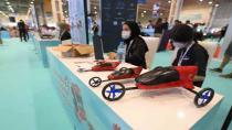 Milli uçan arabaya imza atmak isteyenler TEKNOFEST'te Yarışmaya