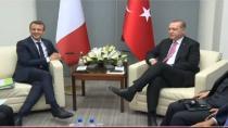 Erdoğan - Macron görüşmesinin gündeminde Libya vardı