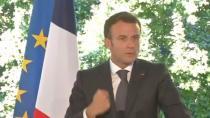 Fransa'da ilkokul öğrencisinden Macron'a: Yediğin tokat nasıldı