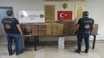 Mersin'de 463 kilo kokain yakalandı