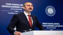 Adalet Bakanı Abdulhamit Gül'den yangınlar hakkında açıklama