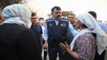 Bakan Kurum: Devletimizin tüm imkanlarıyla yaralarımızı saracağız