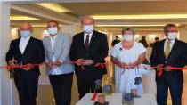KKTC Cumhurbaşkanı Tatar, Kıbrıs Modern Sanat Müzesi'nde sergi açılışına katıldı