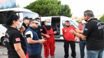 Kadıköy orman yangınlarıyla mücadeleye destek için üçüncü ekibini yolculadı