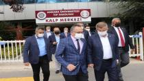 Davutoğlu'ndan Doğu Türkistanlı Erkin Alptekin'i ziyaret