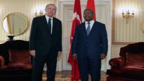 Cumhurbaşkanı Erdoğan, Afrika ülkesi Angola'da
