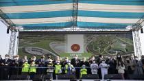 Erdoğan, Ankara AKM Millet Bahçesi açılış törenine katıldı